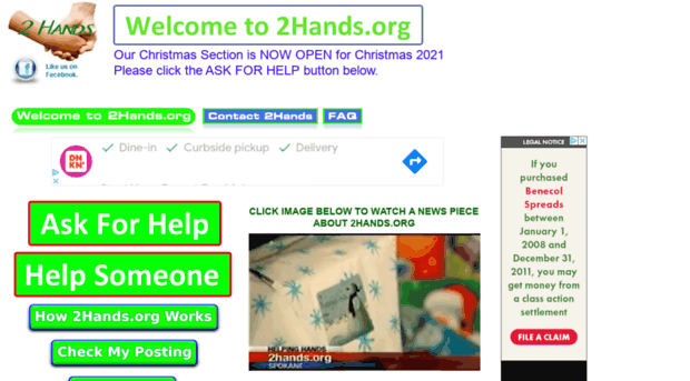 2hands.org - One Hand Helping Another... 2H... - 2Hands