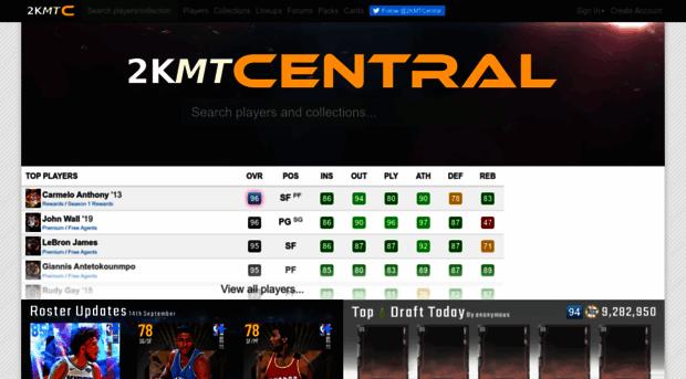 2kmtcentral com - 2KMTCentral | NBA 2K19 MyTEAM