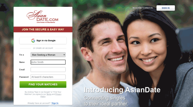Best asian dating site 2017