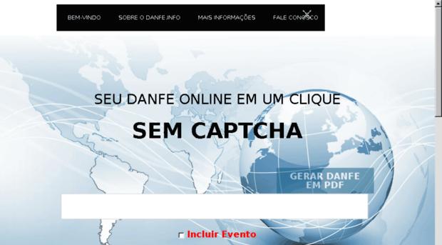 danfe online em pdf