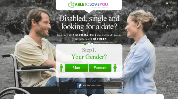 Dating site for handicappede