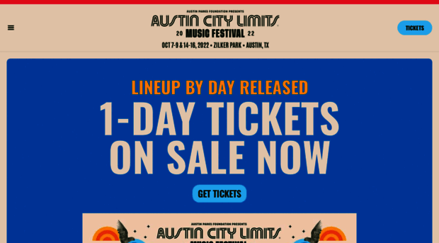 Austin Music Festival 2020.Aclfestival Com Acl Music Festival Oct 2 4 Oct 9 11