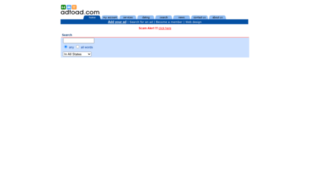 adtoad com Free Classified Ads Site :: Services, Houseware