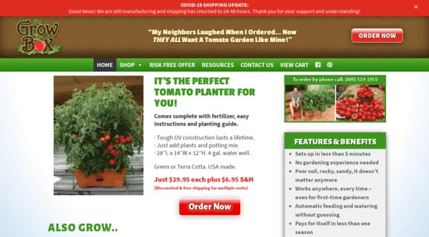 The Garden Patch Growbox The A Garden Patch