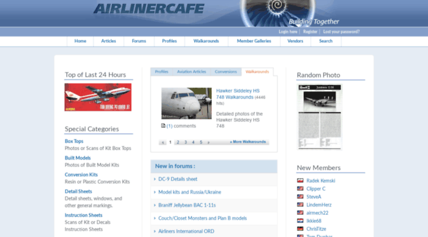 airlinercafe.com