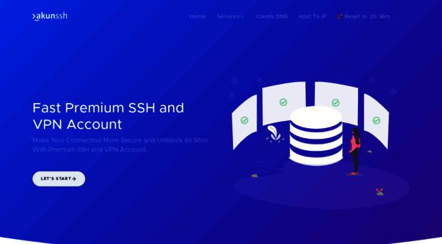 akunssh net Fast Premium SSH and VPN Account - AkunSSH