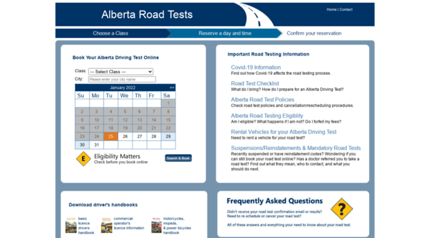 Image result for road test alberta