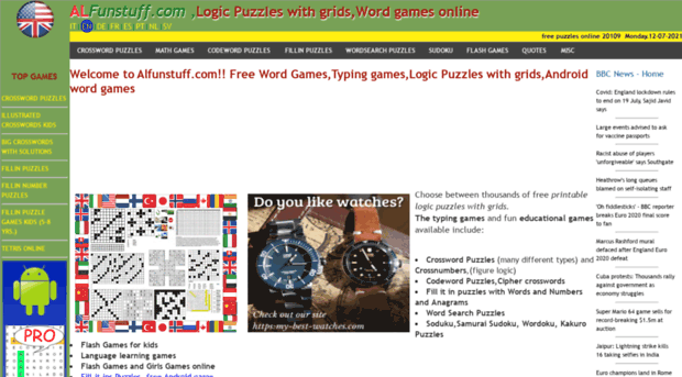 alfunstuff com - Logic puzzles with Grids,Andro    - Alfunstuff