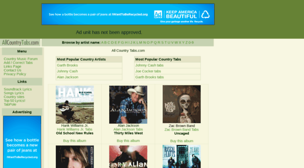 allcountrytabs.com - COUNTRY TABS ! - All COUNTRY TABS