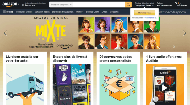 Amazone Com Amazon Fr Livres Dvd Jeux Amazon E