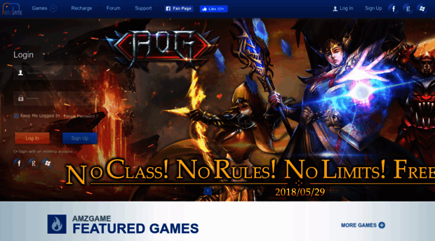 AMZGame | Play Free Online MMO Games