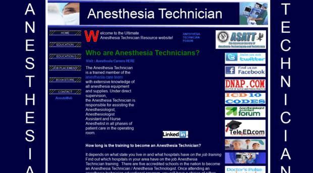 anesthesiatechnician.com - Anesthesia Technician, Anesthe ...