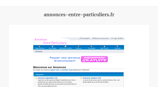 websites neighbouring annonces