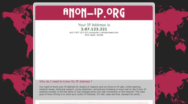 anon-ip org popular anonymous web proxy