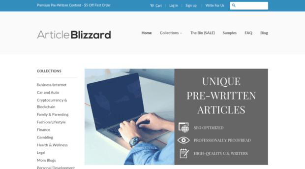 Buy blog articles