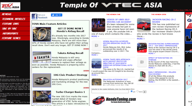 Temple Of Vtec >> Asia Vtec Net The Temple Of Vtec Asia Onli Asia Vtec