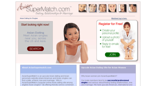 Free Asian Dating Service