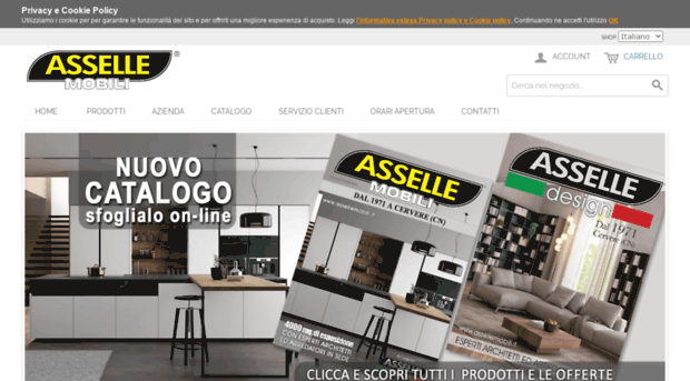 asselle mobili mobilificio arredamenti ai prezzi pi bassi