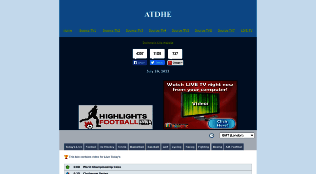 Atdhe.Net-Watch Free Live Sports Tv
