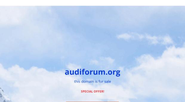 audi forum.ee