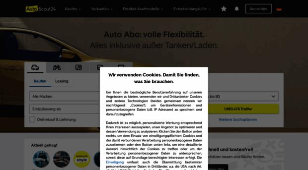 Autoscoutde Gebrauchtwagen Und Neuwagen Be Auto Scout