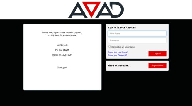 Avadbilltrustcom AVAD Invoice Gateway AVAD Billtrust - Invoice gateway