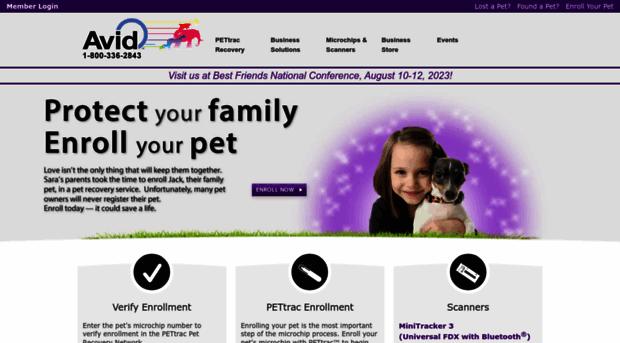 avidid com - The Microchip Company - Avid I    - Avid Id