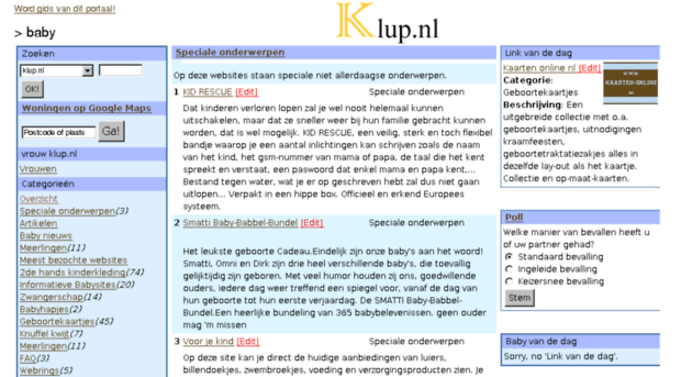 baby.klup.nl