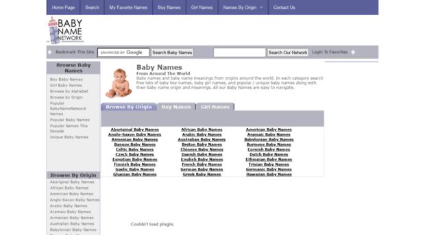 babynamenetwork com - Baby Names - Baby Namenetwork