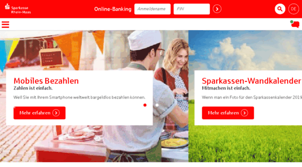 Sparkasse straelen online banking