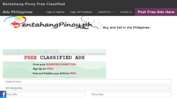 bentahangpinoy ph - Bentahang Pinoy Free Classifie    - Bentahang Pinoy