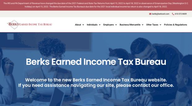 berkseit.com - Berks Earned income Tax Bureau - Berks Eit