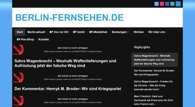 Berlin Fernsehen