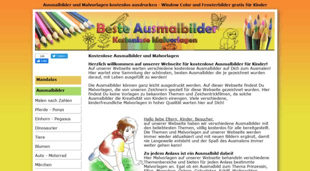beste-ausmalbilder.de - Ausmalbilder und Malvorlagen f... - Beste ...