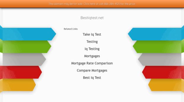 bestiqtest net Best IQ Test - Take The Best IQ Test Free 2019!