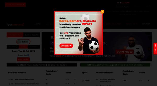 betensured com - Free Football Prediction Site     - Betensured
