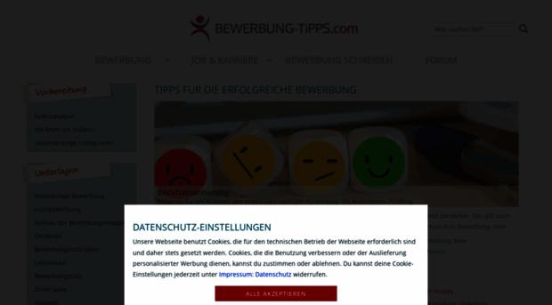 bewerbung tippscom tipps fr die bewerbung mit b bewerbung tipps - Bewerbung Tippscom