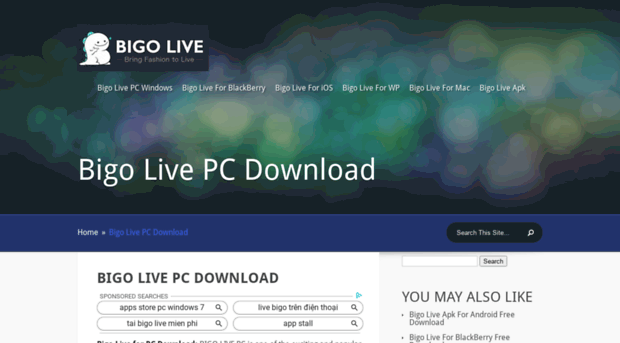 download bigo live pc windows 7