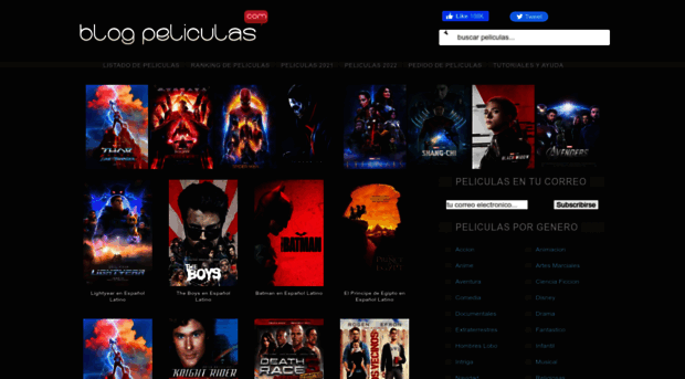 Blog Peliculas