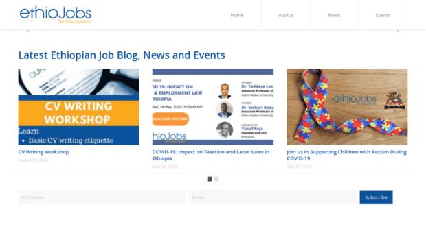 Search Health Care Jobs in Ethiopia Ethiojobs - oukas info