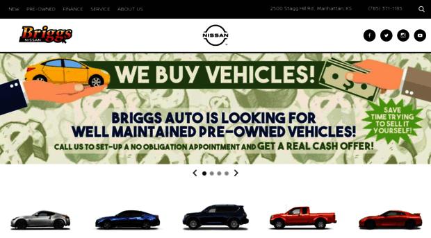 Briggsnissan Com Briggs Nissan New Used Niss Briggs Nissan