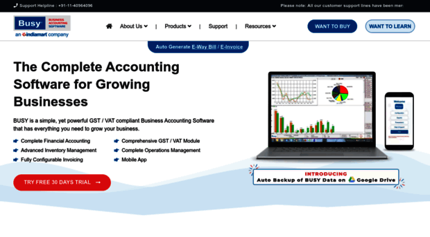 latest busy accounting software free