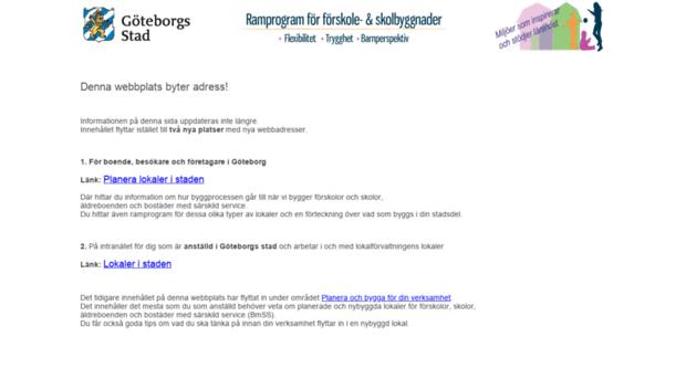 göteborgs stad förskola