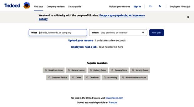 ca.indeed.com - Job Search Canada   Indeed - Ca Indeed