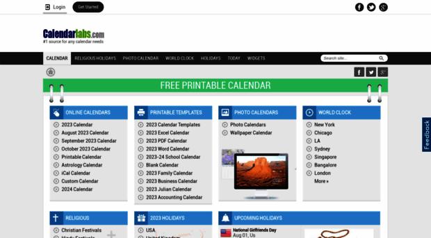 Calendarlabs Com Free Printable 2019 Calendar Calendar Labs