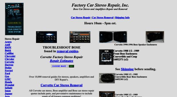 carstereohelp com Car Stereo Repair, Factory Car Stereo