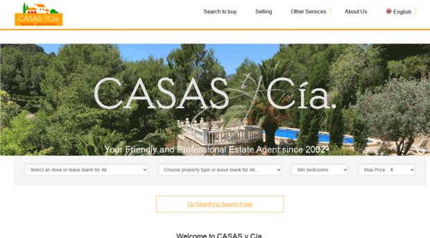 casasycia com - Casas y Cia estate agents- Inm    - Casas Y Cia