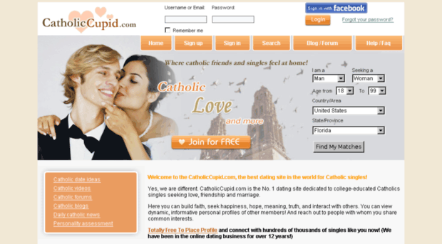 Single catholic dating sites