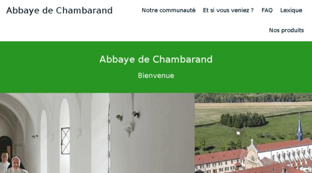 abbaye de chambarand chambarand. Black Bedroom Furniture Sets. Home Design Ideas