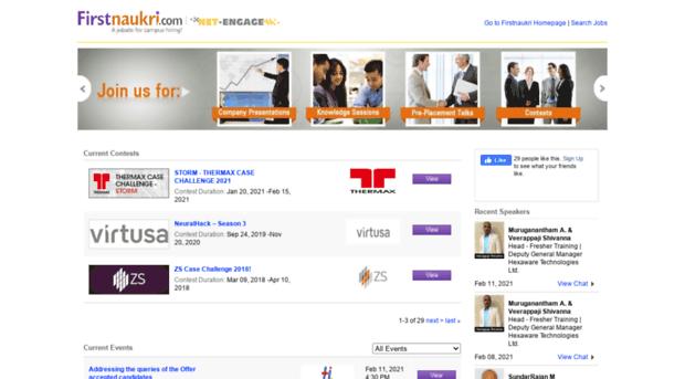 chat firstnaukri com - Firstnaukri com - Net-Engage - Chat